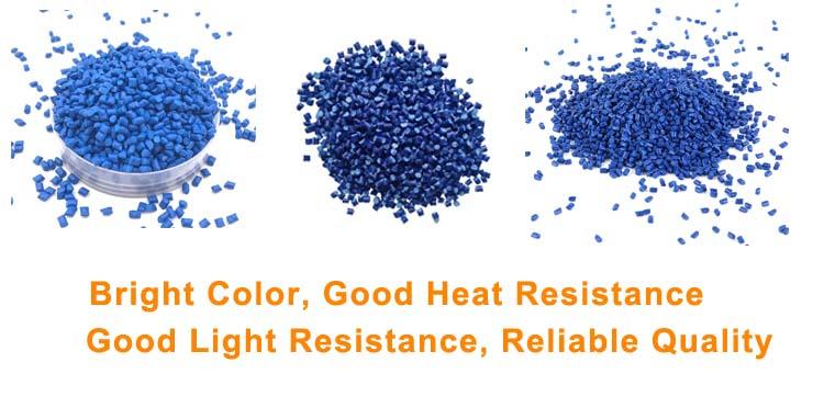 blue masterbatch dyes