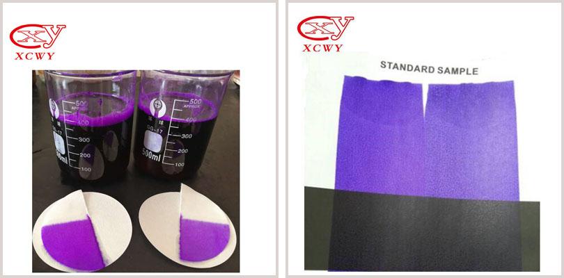 violet-dye-liquid